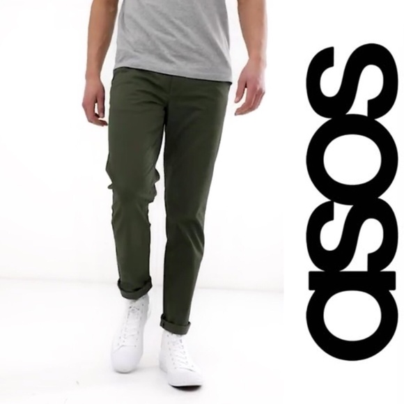 diversified in packaging classic shoes Sales promotion ASOS Slim Fit Chino Pants Size 31
